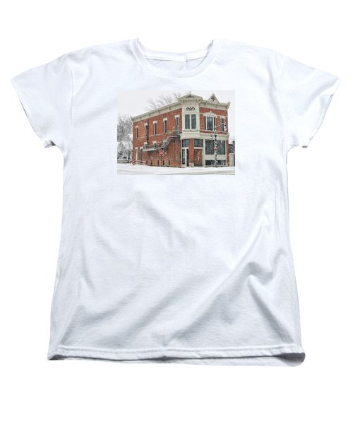 Downtown Whitehouse  7031 Women's T-Shirt (Standard Cut) by Jack Schultz