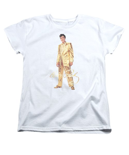 Elvis - Gold Lame Suit Women's T-Shirt (Standard Cut) by Brand A