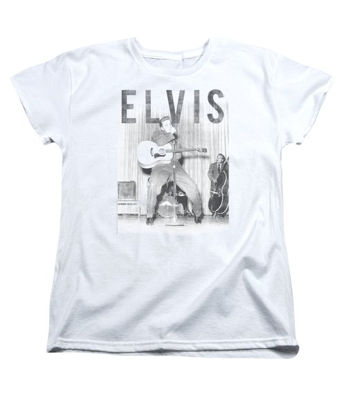 Elvis - With The Band Women's T-Shirt (Standard Cut) by Brand A