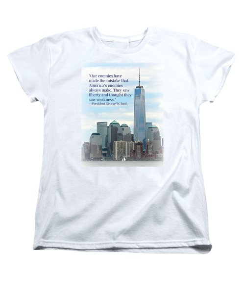 Freedom On The Rise Women's T-Shirt (Standard Cut) by Stephen Stookey
