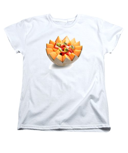 Fruit Salad Women's T-Shirt (Standard Cut) by Johan Swanepoel