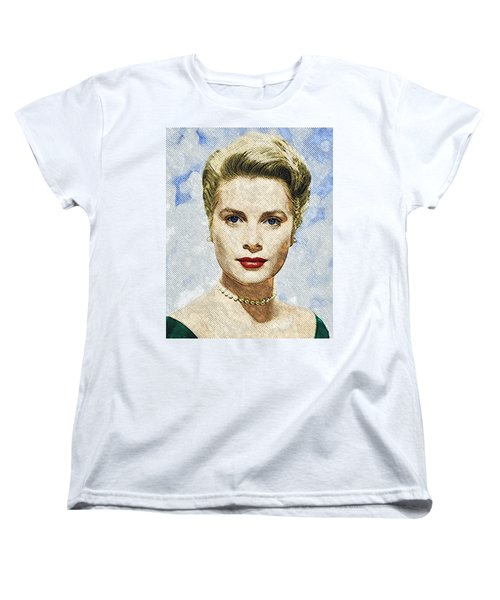 Grace Kelly Women's T-Shirt (Standard Cut) by Taylan Apukovska