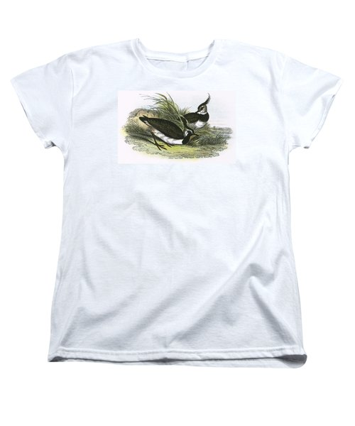 Lapwing Women's T-Shirt (Standard Cut) by English School