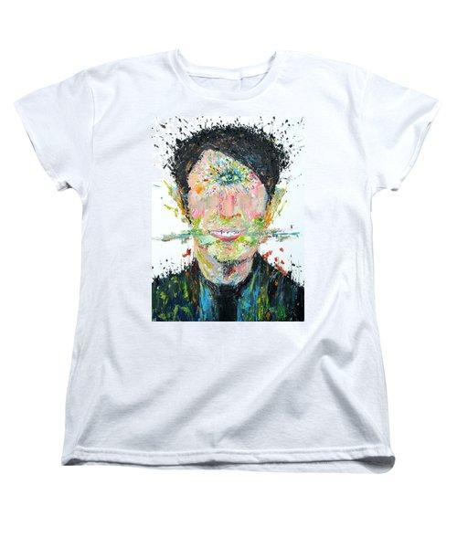 Love Me Do Women's T-Shirt (Standard Cut) by Fabrizio Cassetta