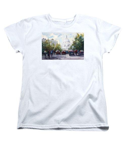 Madison - Capitol Women's T-Shirt (Standard Cut) by Ryan Radke