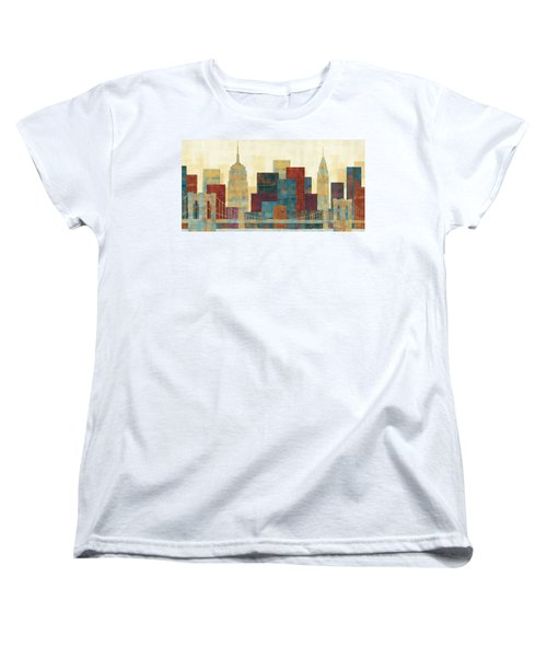 Majestic City Women's T-Shirt (Standard Cut) by Michael Mullan
