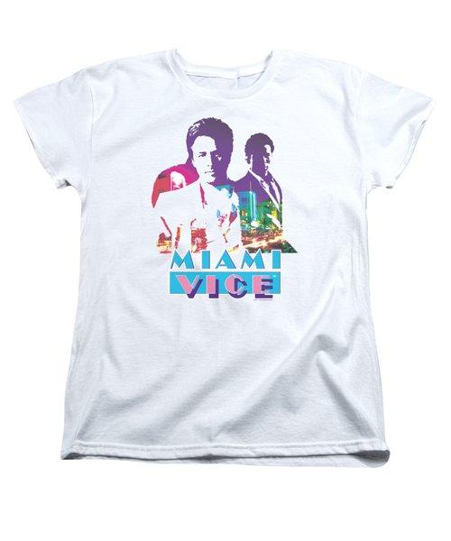 Miami Vice - Crockett And Tubbs Women's T-Shirt (Standard Cut) by Brand A