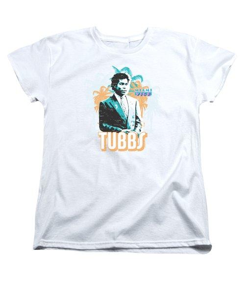 Miami Vice - Tubbs Women's T-Shirt (Standard Cut) by Brand A