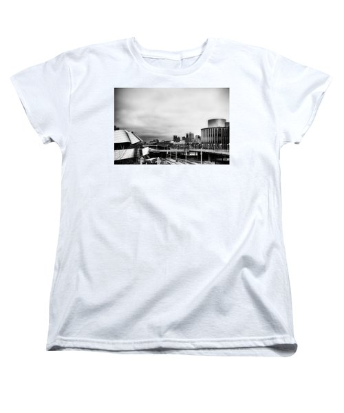 Minneapolis From The University Of Minnesota Women's T-Shirt (Standard Cut) by Tom Gort