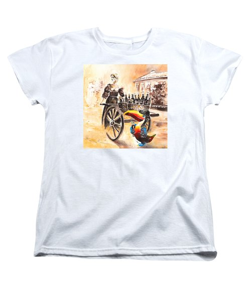 Molly Malone Women's T-Shirt (Standard Cut) by Miki De Goodaboom
