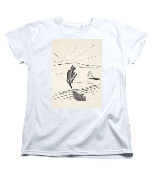 Old Man Kangaroo Women's T-Shirt (Standard Cut) by Rudyard Kipling