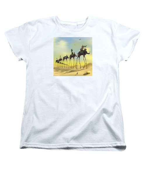 On The Move 2 Without Moon Women's T-Shirt (Standard Cut) by Mike McGlothlen