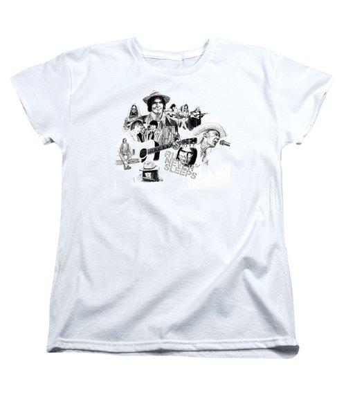 Rust Never Sleeps Women's T-Shirt (Standard Cut) by Ron Enderland