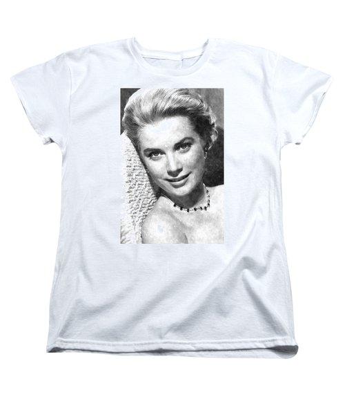 Simply Stunning Grace Kelly Women's T-Shirt (Standard Cut) by Florian Rodarte