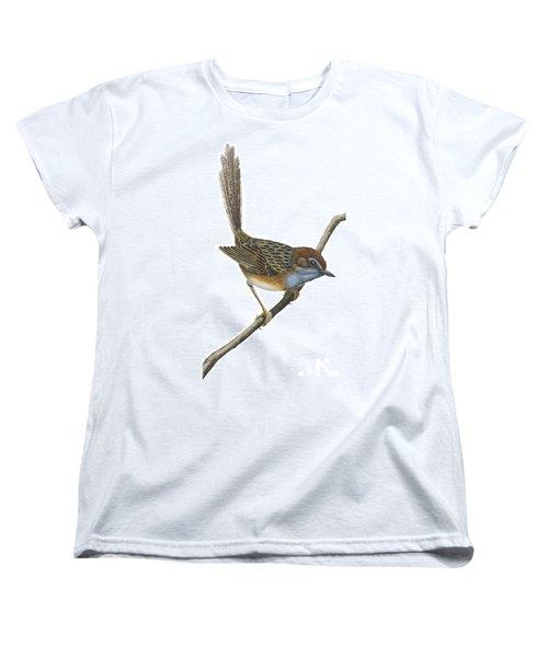 Southern Emu Wren Women's T-Shirt (Standard Cut) by Anonymous