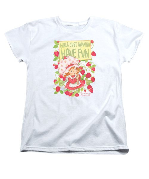 Strawberry Shortcake - Fun One Women's T-Shirt (Standard Cut) by Brand A