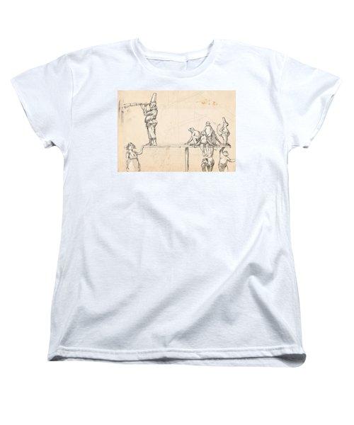 The Captain Women's T-Shirt (Standard Cut) by H James Hoff