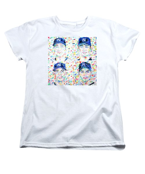 the CORE FOUR - watercolor portrait.1 Women's T-Shirt (Standard Cut) by Fabrizio Cassetta