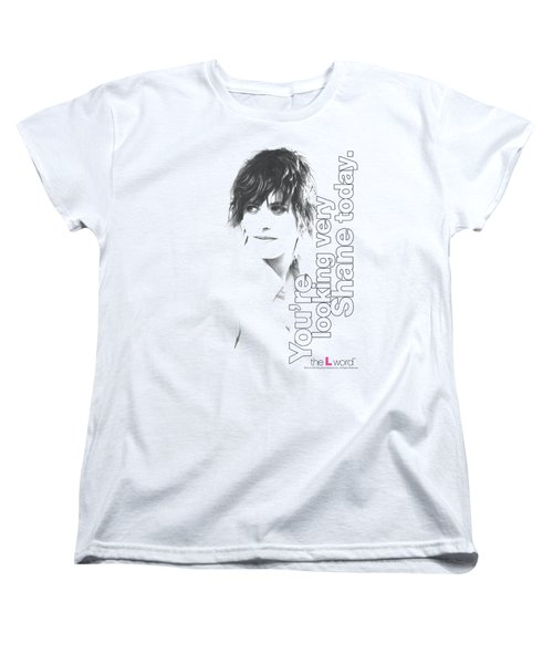 The L Word - Looking Shane Today Women's T-Shirt (Standard Cut) by Brand A