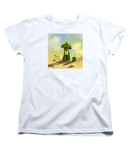 The Nightstand Women's T-Shirt (Standard Cut) by Mike McGlothlen