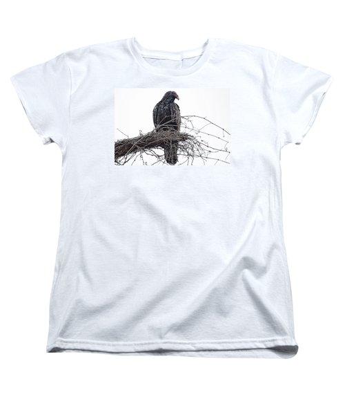 Turkey Vulture Women's T-Shirt (Standard Cut) by Douglas Barnard