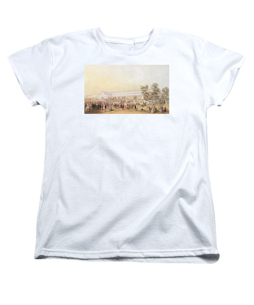 View Of The Crystal Palace Women's T-Shirt (Standard Cut) by George Baxter