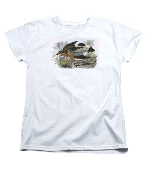 Wheatear Women's T-Shirt (Standard Cut) by English School