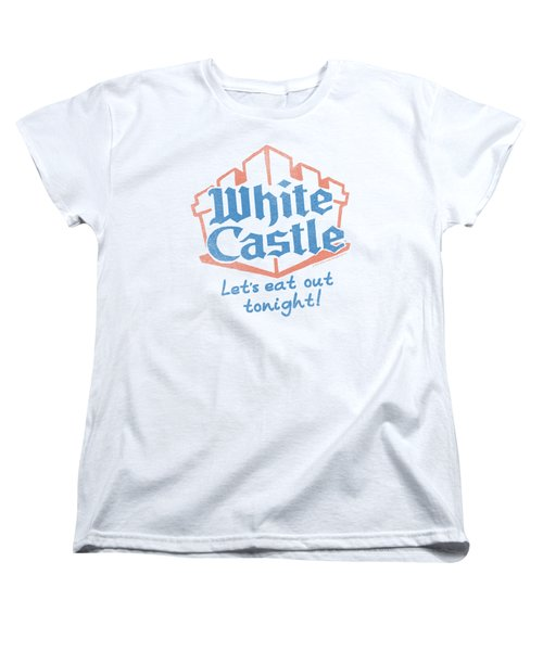 White Castle - Lets Eat Women's T-Shirt (Standard Cut) by Brand A