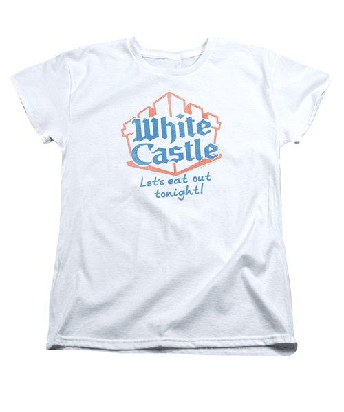 White Castle - Lets Eat Women's T-Shirt (Standard Cut) by Brand A