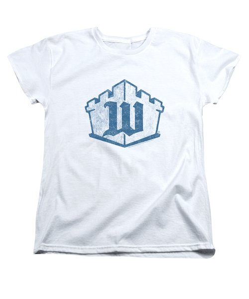 White Castle - Monogram Women's T-Shirt (Standard Cut) by Brand A