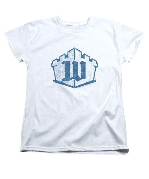 White Castle - Monogram Women's T-Shirt (Standard Cut) by Brand A