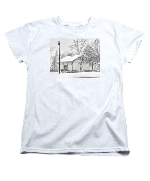 Whitehouse Train Station Women's T-Shirt (Standard Cut) by Jack Schultz