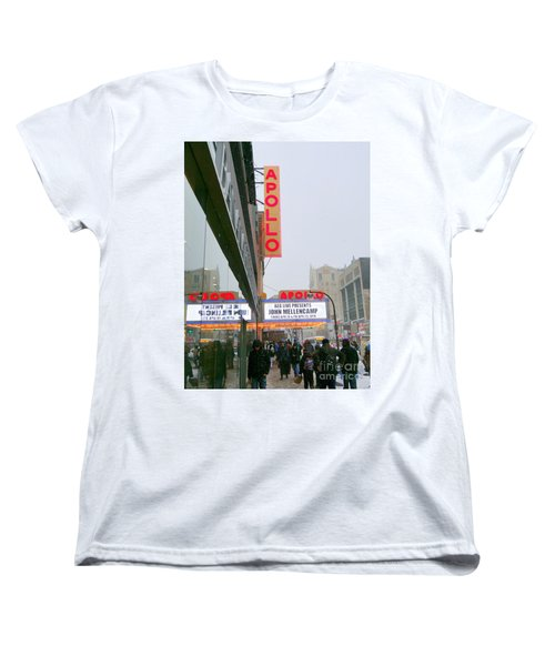 Wintry Day At The Apollo Women's T-Shirt (Standard Cut) by Ed Weidman