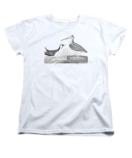 American Ornithology Women's T-Shirt (Standard Cut) by Granger