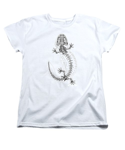 Cryptobranchus, Living Fossil Women's T-Shirt (Standard Cut) by Science Source