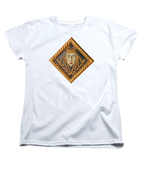 Medusa Women's T-Shirt (Standard Cut) by Photo Researchers