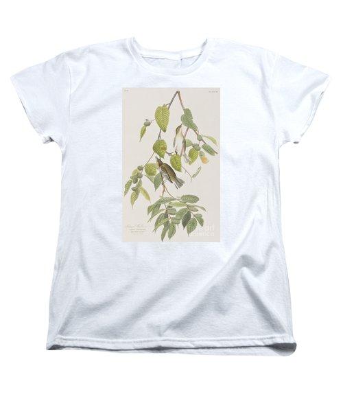 Autumnal Warbler Women's T-Shirt (Standard Cut) by John James Audubon