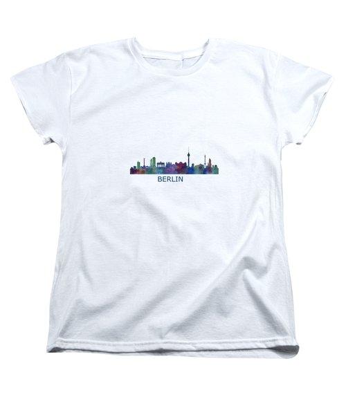 Berlin City Skyline Hq 1 Women's T-Shirt (Standard Cut) by HQ Photo