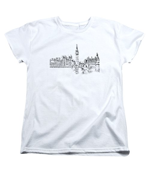Big Ben Women's T-Shirt (Standard Cut) by ISAW Gallery