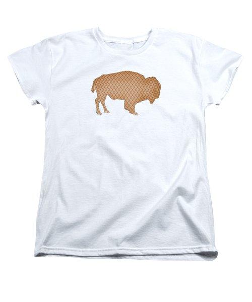 Bison Women's T-Shirt (Standard Cut) by Mordax Furittus
