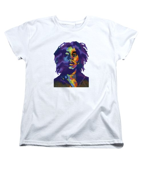 Bob Marley-for T-shirt Women's T-Shirt (Standard Cut) by Stephen Anderson