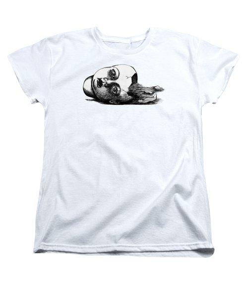 Broken Doll Women's T-Shirt (Standard Cut) by Akiko Okabe