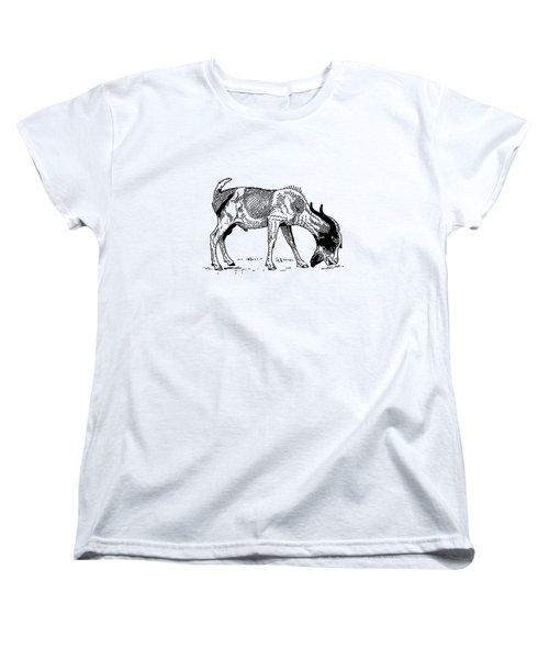 Goat Women's T-Shirt (Standard Cut) by Mordax Furittus