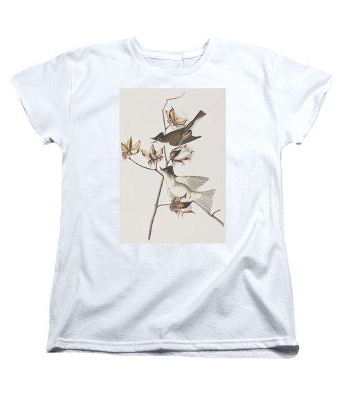 Pewit Flycatcher Women's T-Shirt (Standard Cut) by John James Audubon