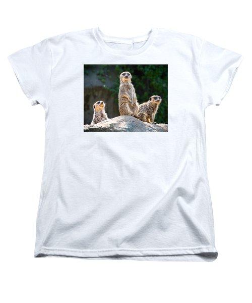 Three's Company Women's T-Shirt (Standard Cut) by Jamie Pham