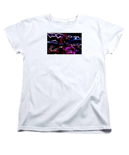 Venus Williams Match Point Women's T-Shirt (Standard Cut) by Brian Reaves