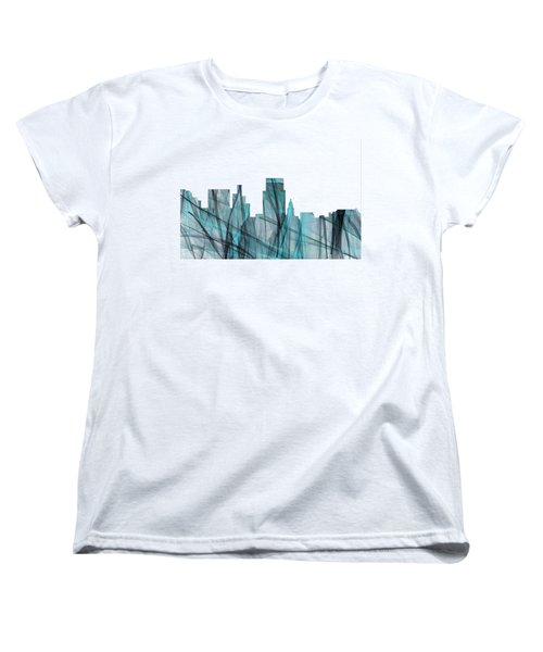 Boise Idaho Skyline Women's T-Shirt (Standard Cut) by Marlene Watson