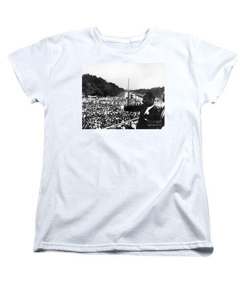 Martin Luther King, Jr Women's T-Shirt (Standard Cut) by Granger