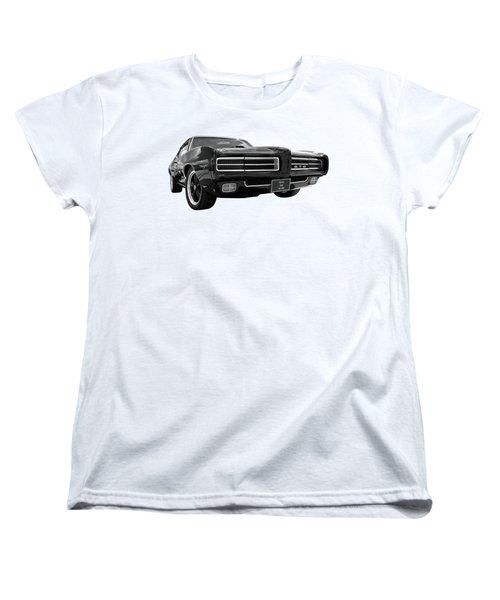 1969 Pontiac Gto The Goat Women's T-Shirt (Standard Cut) by Gill Billington