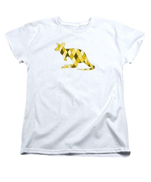 Kangaroo Women's T-Shirt (Standard Cut) by Mordax Furittus